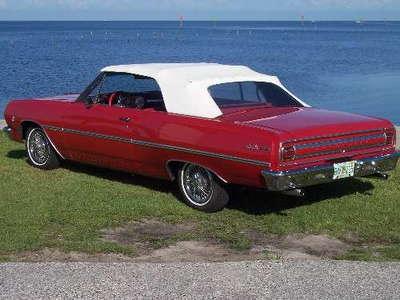 1965 Chevrolet Chevelle Conv COLD AC PDB