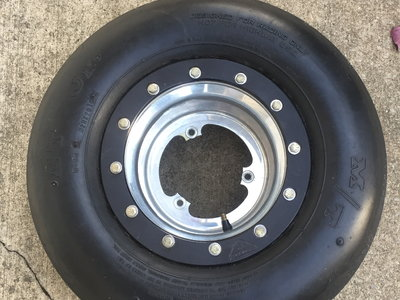 M/t ties bead lock wheels