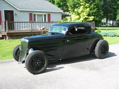 1934 Ford coupe 427 Corvette