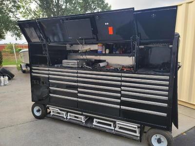 NASCAR GARAGE BOX