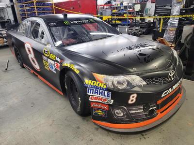 NASCAR TRACK DAY ROAD RACE CAR