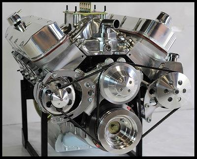 BBC Chevy Turn Key 632 Stage 10.5 Engine AFR Dart 915HP