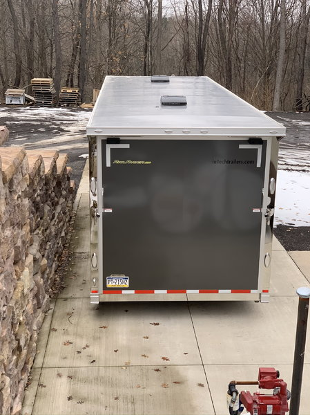 2019 inTech 26 foot iCon Enclosed Trailer with Rail Ryder lo  for Sale $45,500