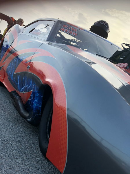 1968 Pro Mod Camaro All Carbon Roller w\ Removeable Body