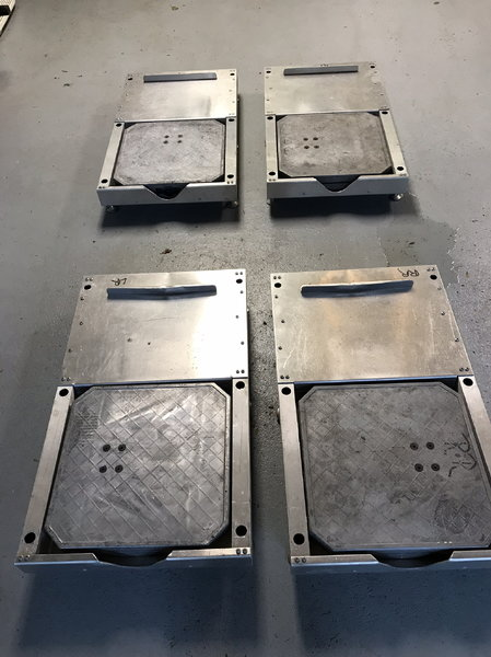 Scale roll-off levelers  for Sale $600