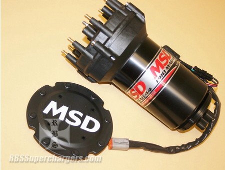 MSD 44 Generator Pro Cap Band Clamp Mount Black   for Sale $2,457