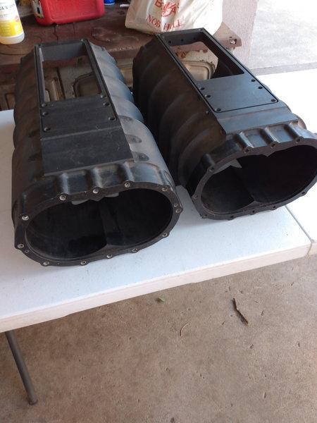 1471 Kobelco superman blower case and 1471 Kobelco K11 case