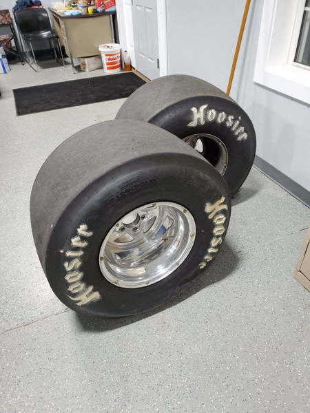 Weld Prostar's with Hoosiers  for Sale $500