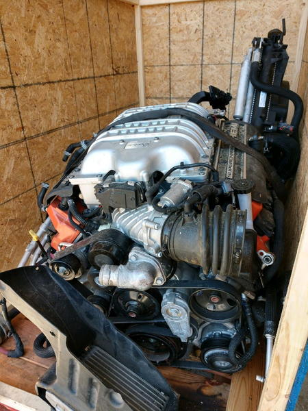 2017 HELLCAT HEMI MOTOR AND TRANSMISSION  for Sale $14,800