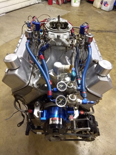 CHEV SB 383 Nitrous Race Engine  for Sale $7,000
