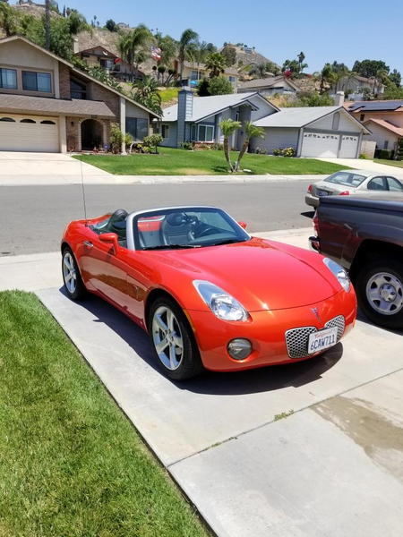 2008 Pontiac Solstice  for Sale $16,500