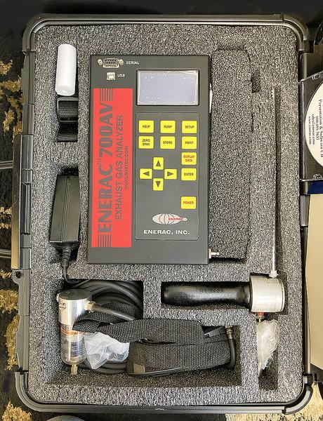 Advanced Portable Emissions Analyzer  for Sale $2,000