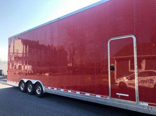 2002 40ft Featherlite Aluminum Stacker Trailer  for Sale $42,000