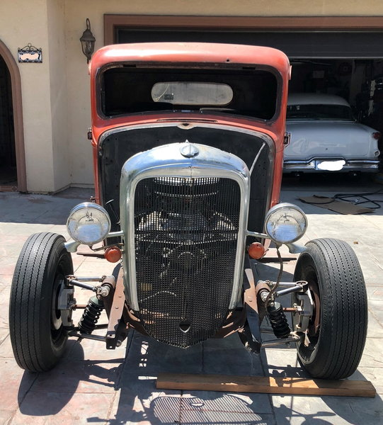 1933 Chevy 1/2 Ton Truck - Roller  for Sale $8,999
