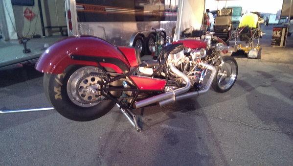 Nitro Harley AMRA Funny Bike