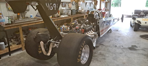 242 inch 2005 S & W Dragster  for Sale $20,000