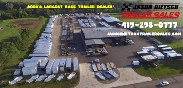 2021 ATC Quest 8.5X24 Car/Race Trailer #2155