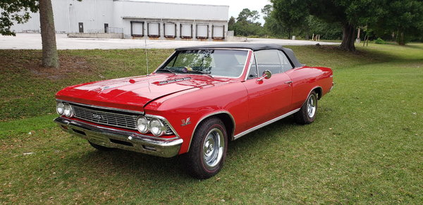 1966 Chevrolet Chevelle  for Sale $39,000