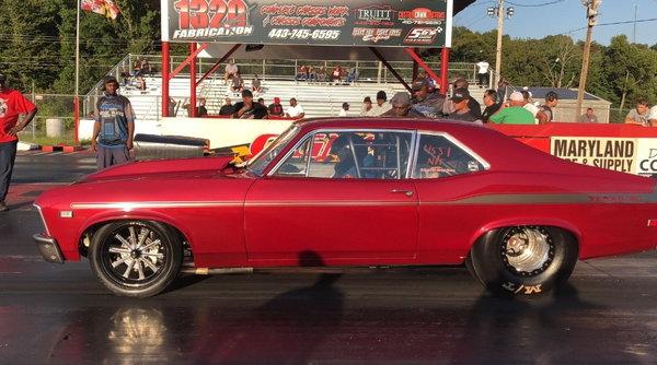"""""""69 Nova Grudge Car""""  for Sale $38,000"""