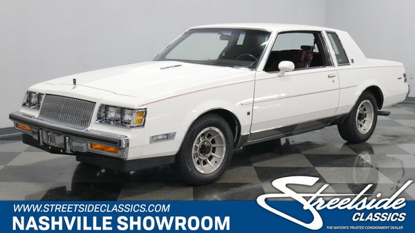 Buick Regal T Type >> 1987 Buick Regal T Type Turbo For Sale In La Vergne Tn Price 37 995