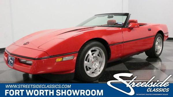 1990 Chevrolet Corvette Convertible  for Sale $17,995