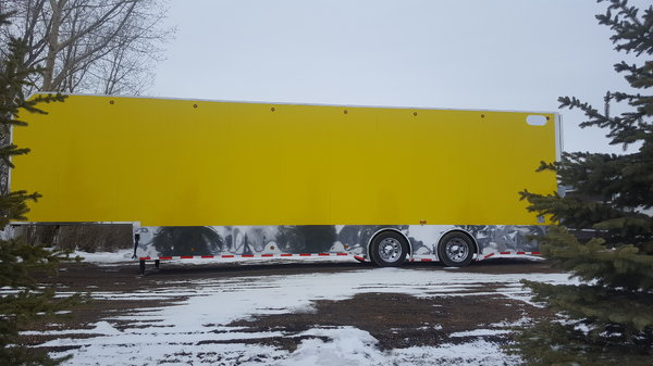 44' lift gate stacker partial trade
