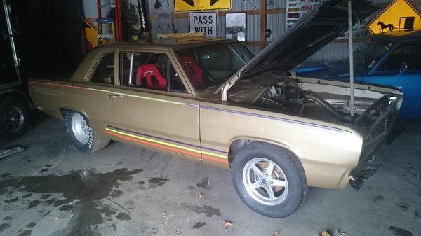 1968 Valiant 2 post car  for Sale $16,500