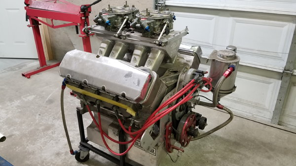 731 CI Chevy 1390 HP  for Sale $35,000