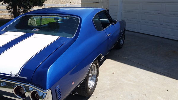 1972 Chevrolet Chevelle  for Sale $24,900