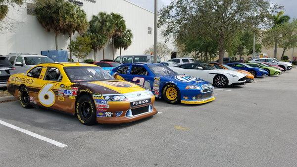 Both TEAM Road Course Penske Dodge 2011 NASCAR CARs&nb