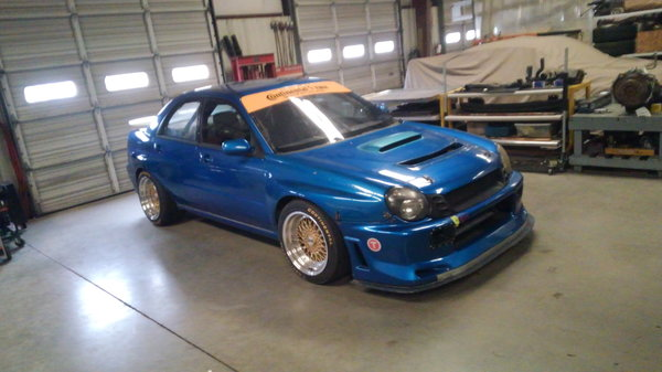 2003 Subaru WRX st2  for Sale $12,500