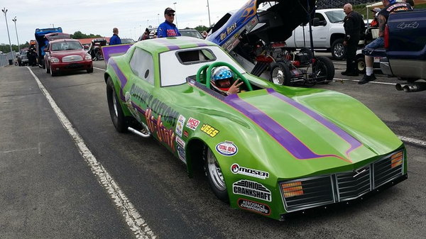 1970's Mid-Engine Funny Car