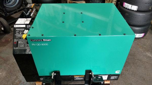 Cummins Onan RV QD 8000 Generator   for Sale $5,500