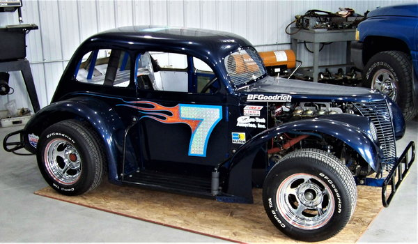 LEGENDS RACE CAR with NASCAR background  for Sale $5,000