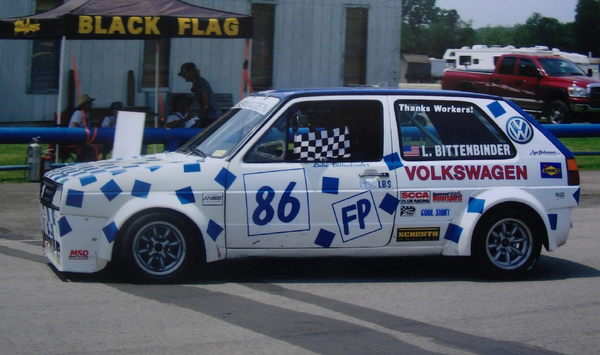 SCCA FP 1986 VW Golf GTI  for Sale $7,500