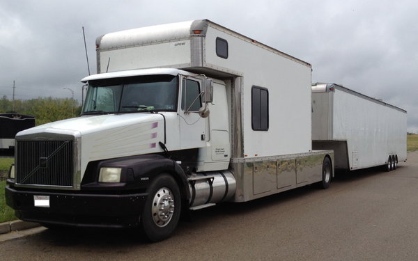 48 Competition Enclosed Stacker Trailer - $13,950  for Sale $13,950