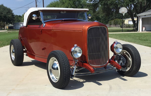 1932 Ford All Steel Highboy Roadster   for Sale $58,999