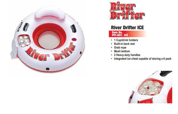 River Drifter Ice Chest  for Sale $34