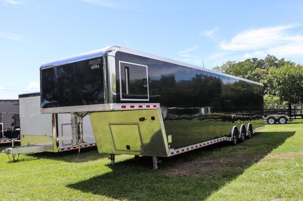 2020 8.5 x 44 Bravo Gooseneck Race Trailer