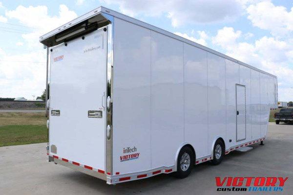 2020 InTech 38' Aluminum Sprint Car Trailer