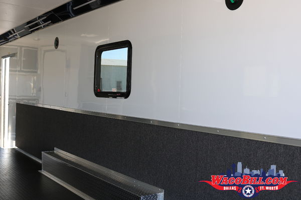 30' Bathroom/ Shower Package Race Trailer Wacobill.com