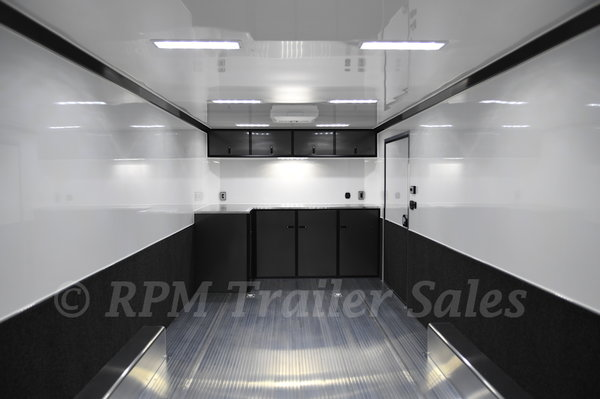24' Aluminum Race Car Trailer - 11554