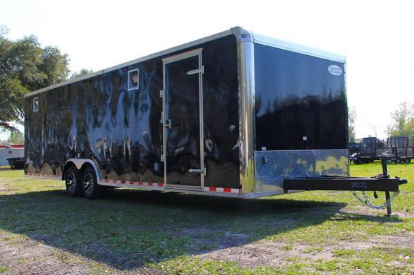 28' Continental Cargo w/ Aluminum Exterior Walls & Wheel