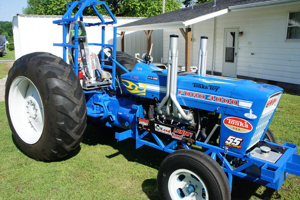 Classic Modified Pulling Tractor  for Sale $10,500