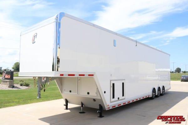 2021 inTech 42' All Aluminum Sprint Car Trailer