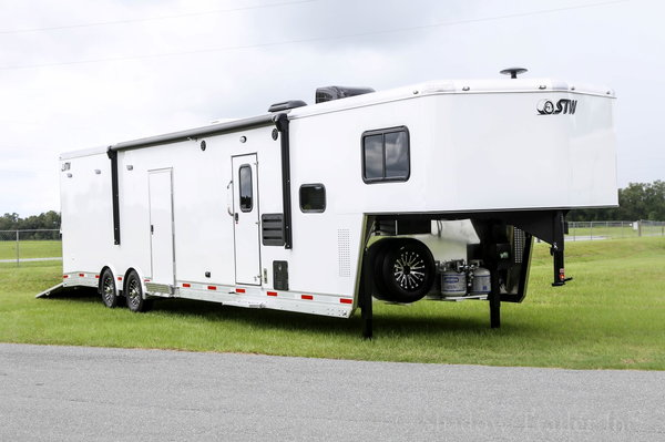 2021 STW Enclosed Cargo with 14' Living Quarters and 20' gar
