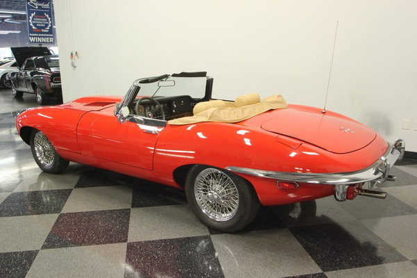 1970 Jaguar XKE Roadster  for Sale $94,995