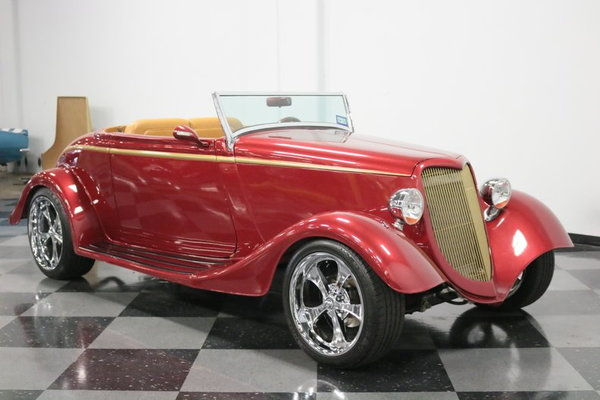 1934 Ford Cabriolet  for Sale $48,995