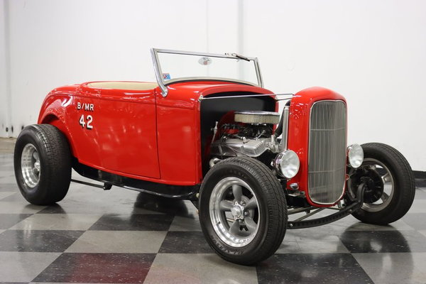 1932 Ford Highboy Roadster Replica  for Sale $32,995