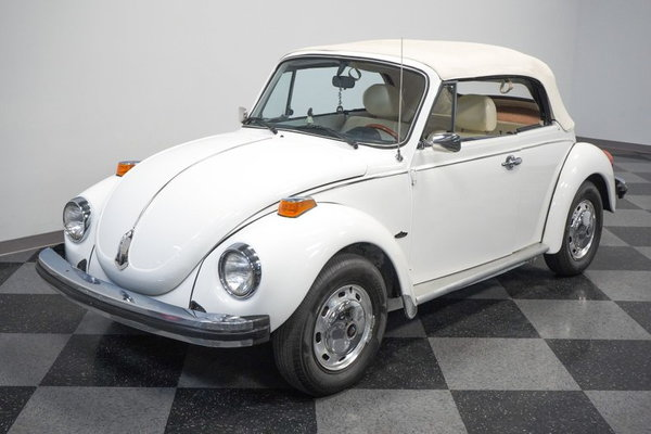 1977 Volkswagen Beetle Champagne Edition Convertible  for Sale $18,995
